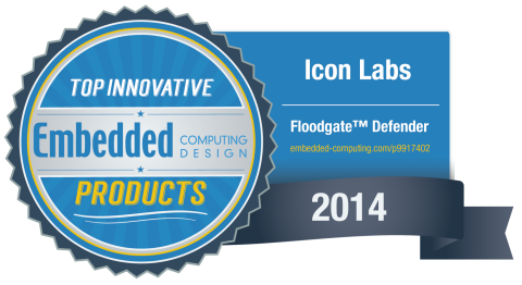 Embedded Computing Design Top Innovator 2014 Award